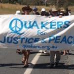 Quaker Peace Demonstration